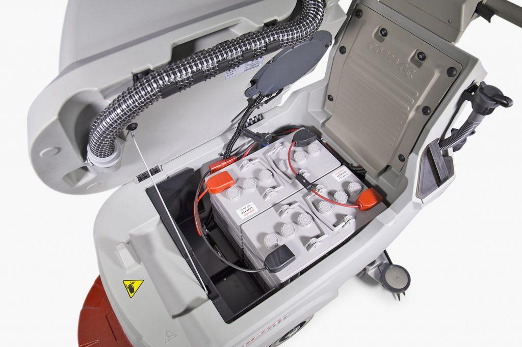 Le batterie delle lavasciuga pavimenti Comac